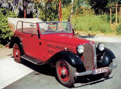 1933-1934: BMW 303 - Beginn der technischen Traditionen