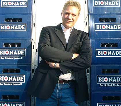 """""""Das offizielle Getränk einer besseren Welt"""":Bionade-Chef Kowalsky"""