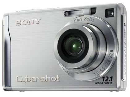 Begehrte Kamera: Die Cybershot von Sony
