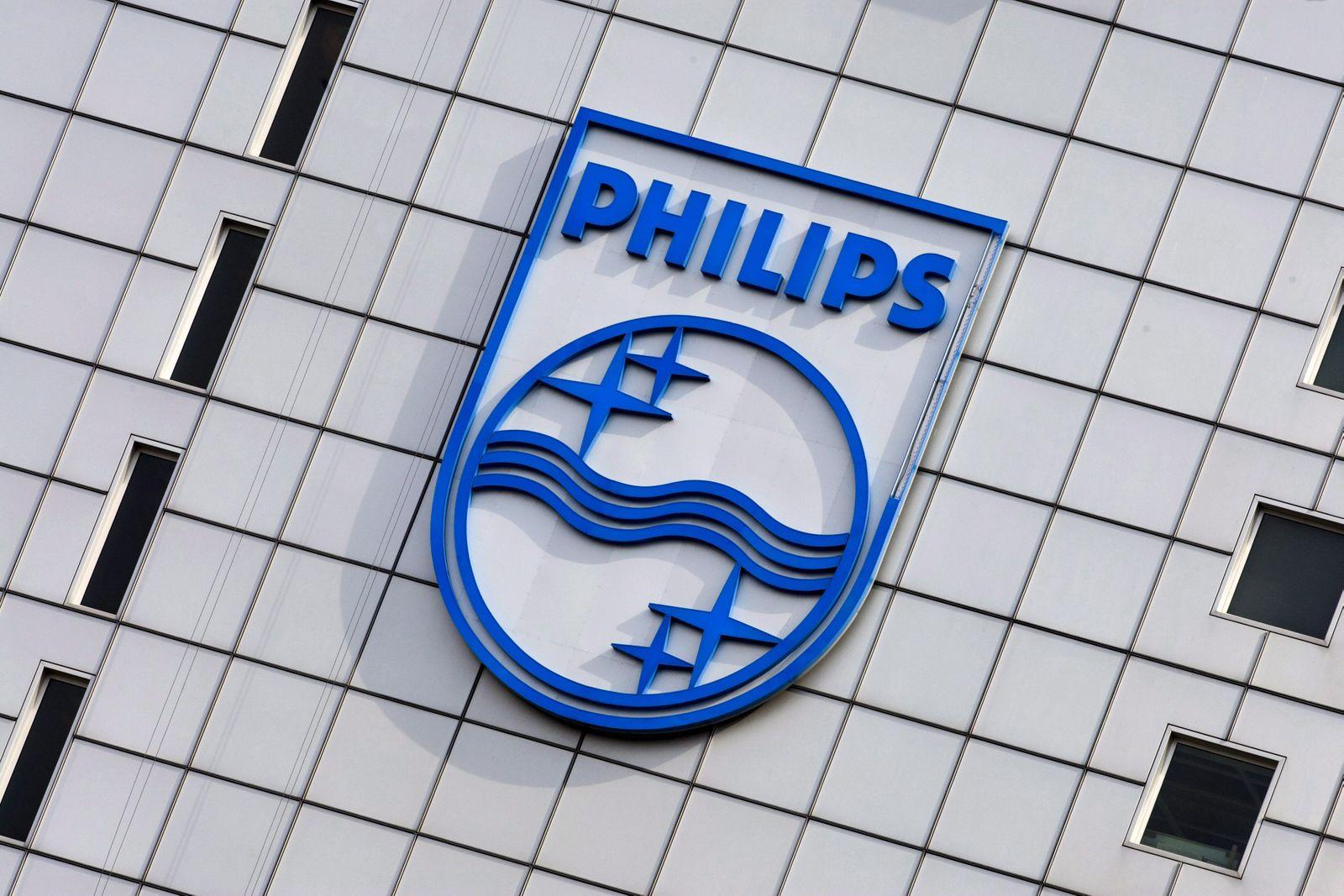 Philips / Firmenschild / Zentrale in Amsterdam