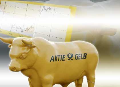 """Anleger greifen nach dem Kurssturz der """"Aktie Gelb"""" wieder zu."""