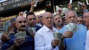 Erdoğan ruft Landsleute zur Lira-Rettung auf