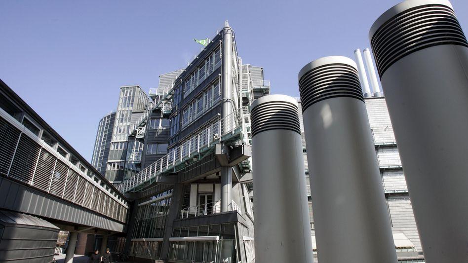 Verlagshaus von Gruner + Jahr in Hamburg: Bertelsmann gehören bislang 74,9 Prozent der Anteile. Die Gütersloher zielen auf die Komplettübernahme