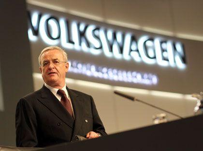 Greift Toyota an: VW-Chef Winterkorn schwört die Aktionäre auf Wachstum ein