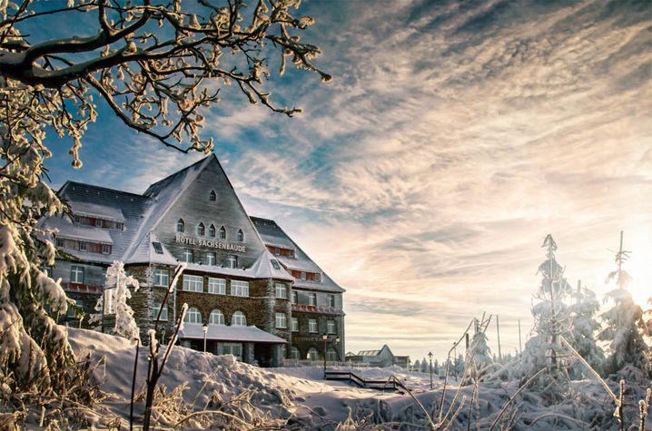 Relaxhotel auf dem Fichtelberg: Sachsenbaude
