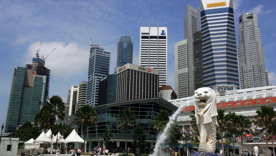 Ausdruck der wachsenden Stärke Singapurs: Beeindruckende Straßenzüge
