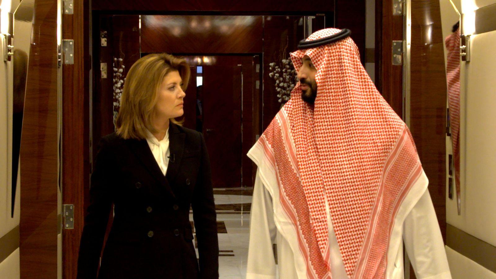 EINMALIGE VERWENDUNG Mohammed bin Salman
