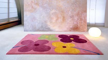 Blumen-Teppich von Vorwerk