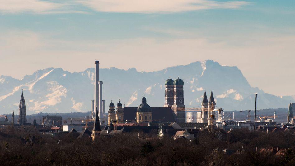 Münchener Skyline