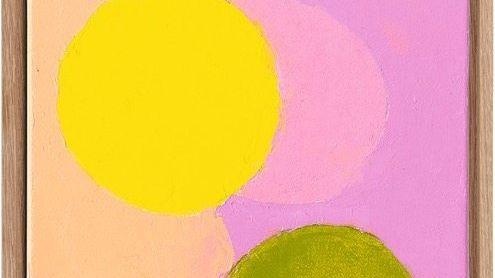 """PUNKTLANDUNG Adnan-Gemälde """"Satellites 11"""" (2020)"""