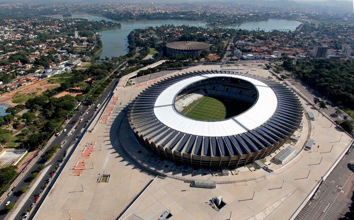 Mineirão-Stadion in Belo Horizonte