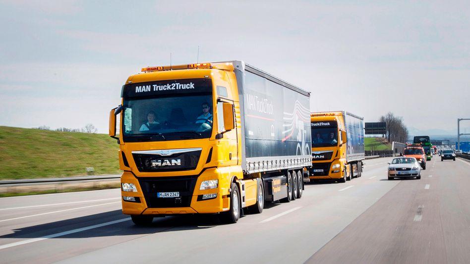 Volkswagen: Zur rucksparte Traton gehören die Marken MAN und Scania