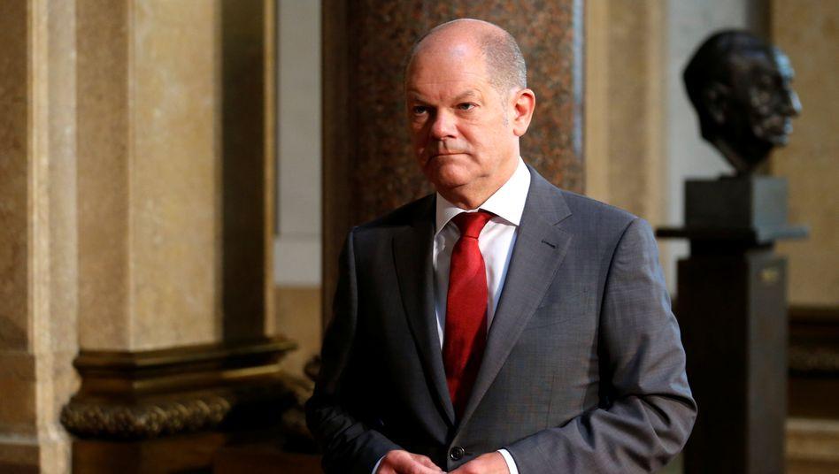 Olaf Scholz (SPD): Der Bundesfinanzminister soll schon im Februar 2019 von dem Verdacht der Marktmanipulation erfahren haben