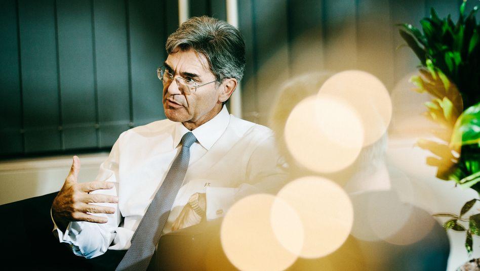"""Siemens-Chef Joe Kaeser: """"Ich bin nicht der Typ, der seine Truppen in die Schlacht treibt und dann wegreitet"""""""