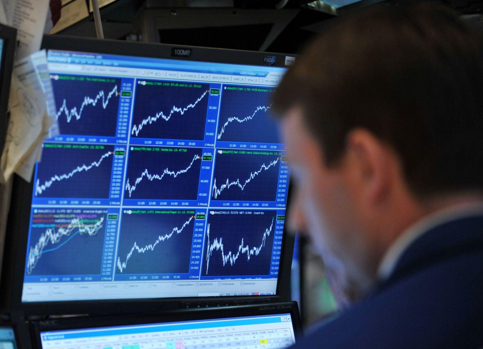 Dow Jones steigt