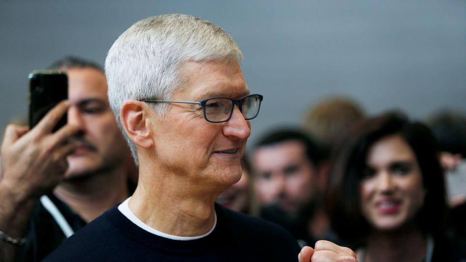 Macht möglicherweise bald auch in Autos: Apple-Chef Tim Cook.