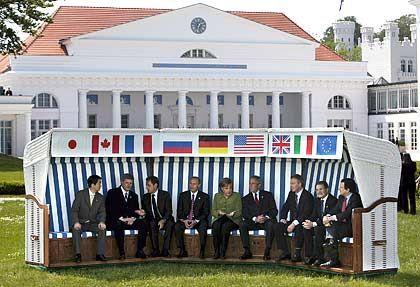 G8: Viel Streit hinter den Kulissen