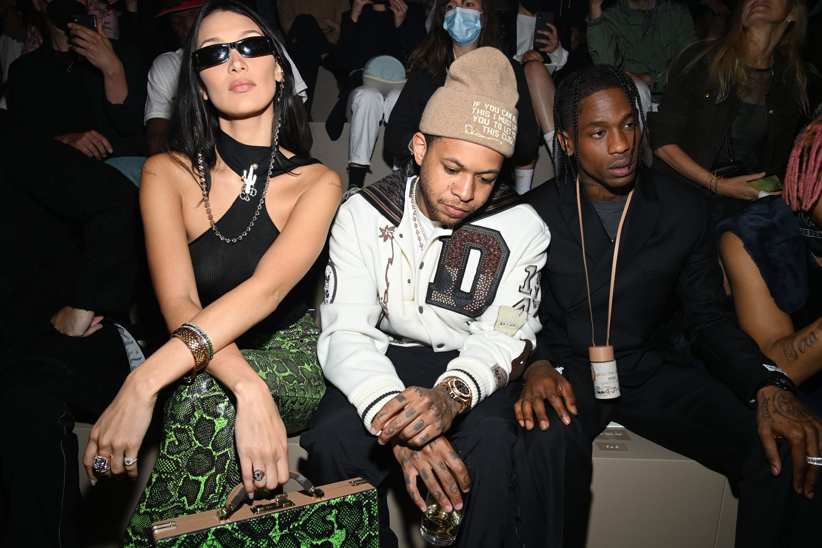 Dior Homme : Front Row - Paris Fashion Week - Menswear Spring/Summer 2022