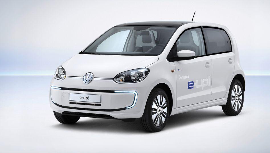 e-Up von Volkswagen: 160 Kilometer Reichweite