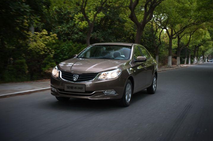 General Motors: Die Marke Baojun (hier: Baojun 630) ist aus einer Kooperation mit SAIC hervorgegangen