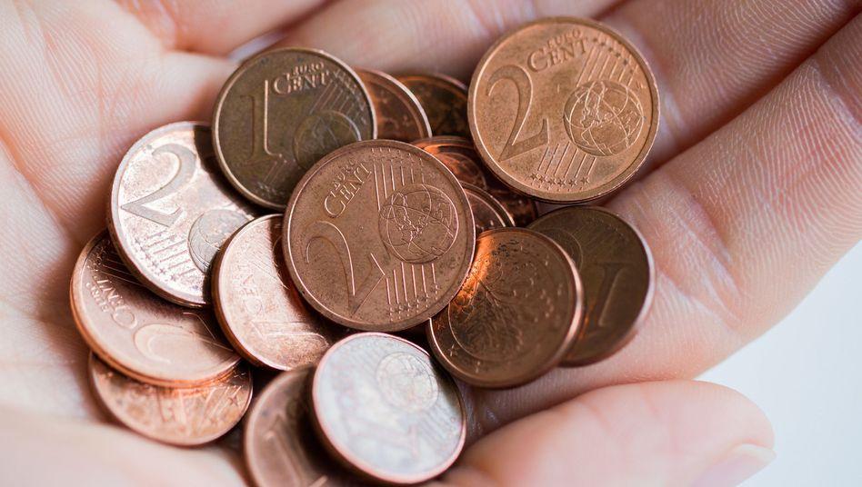 Überflüssig? Würden die Ein- und Zwei-Cent-Münzen abgeschafft, könnte die Inflation steigen