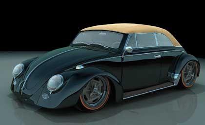 Porschette: Halb Porsche, halb Käfer und dann auch noch ein Cabrio - von dieser Porschette würde Bo Zolland gern eine Kleinserie auflegen