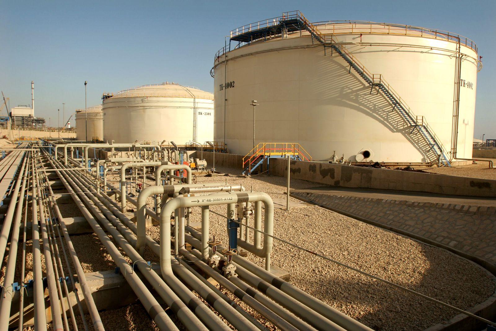 Iran / Öl / Assaluyeh / Persischer Golf