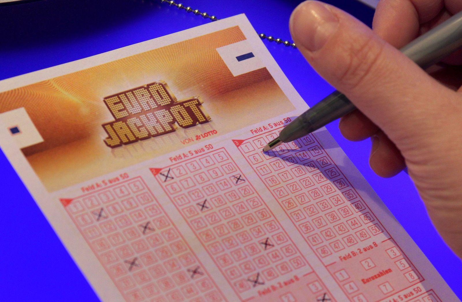 Eurojackpot/ Lottoschein