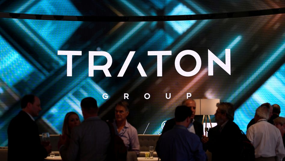 Traton-Logo in Hannover