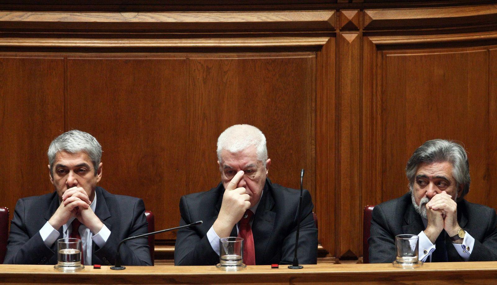 Finanzkrise Portugal/ Socrates