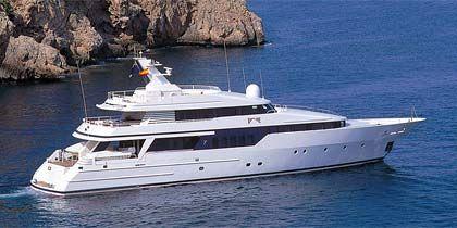 """Schönheit der Meere: Die 40 Meter lange Yacht """"Be Mine"""""""