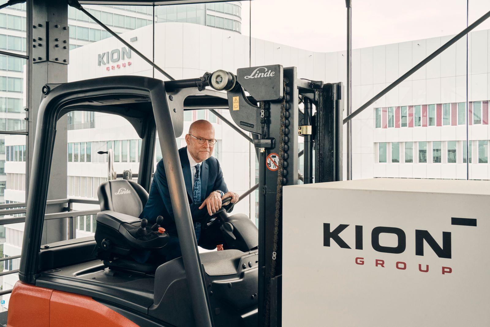 Portrait Gordon Riske - CEO KION