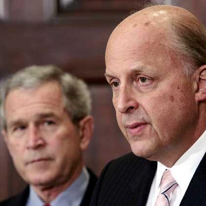 """""""Breite Erfahrung"""": John Negroponte genießt hohes Ansehen bei US-Präsident Bush"""