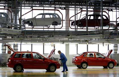 Avtovaz in Togliatt: Produktion vor allem für den russischen Markt