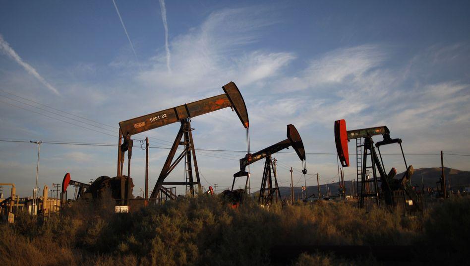 Ölförderung in Kalifornien: Der niedrige Preis für den Rohstoff macht der Industrie zu schaffen