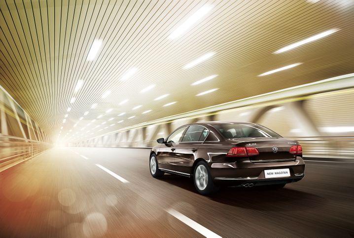 VW Magotan: Ein Passat mit gewöhnungsbedürftigem Namen