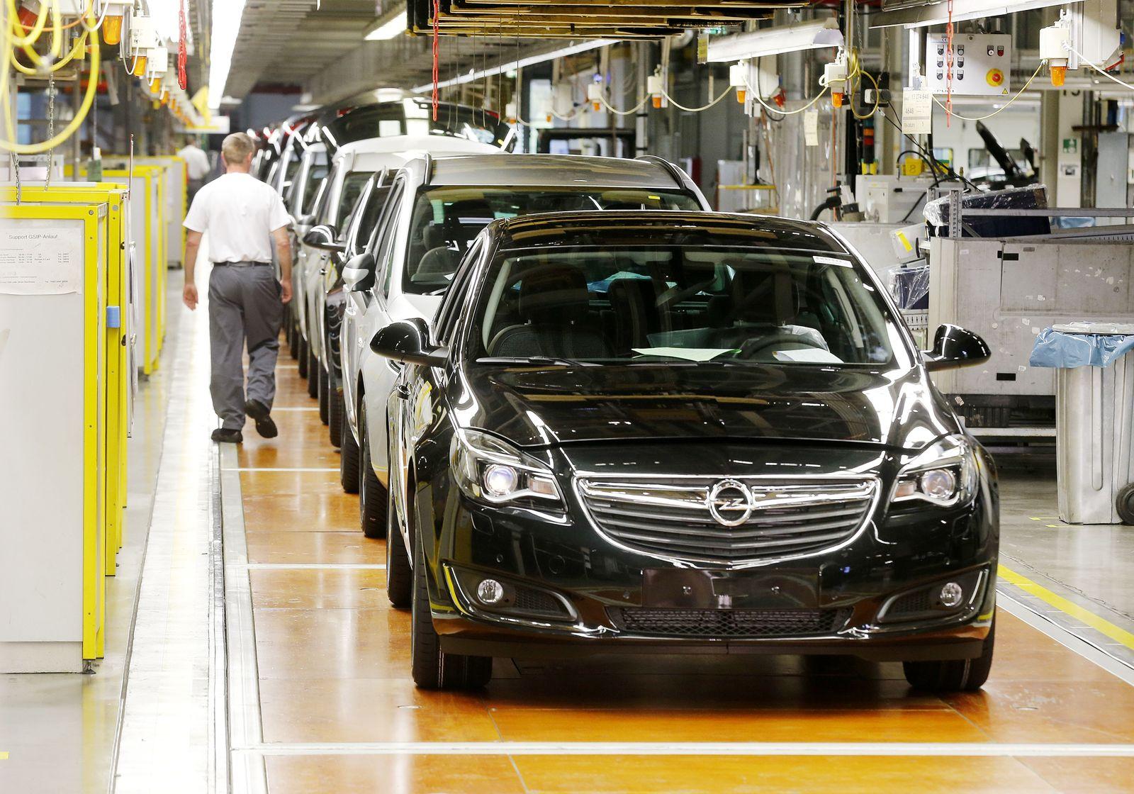 Opel/ Produktion Rüsselsheim