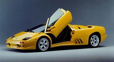 Zweisitzer im edlen Gewand: Lamborghini Diablo