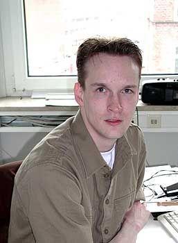 Dirk Kollberg, 30, ist Virus Research Engineer bei Network Associates