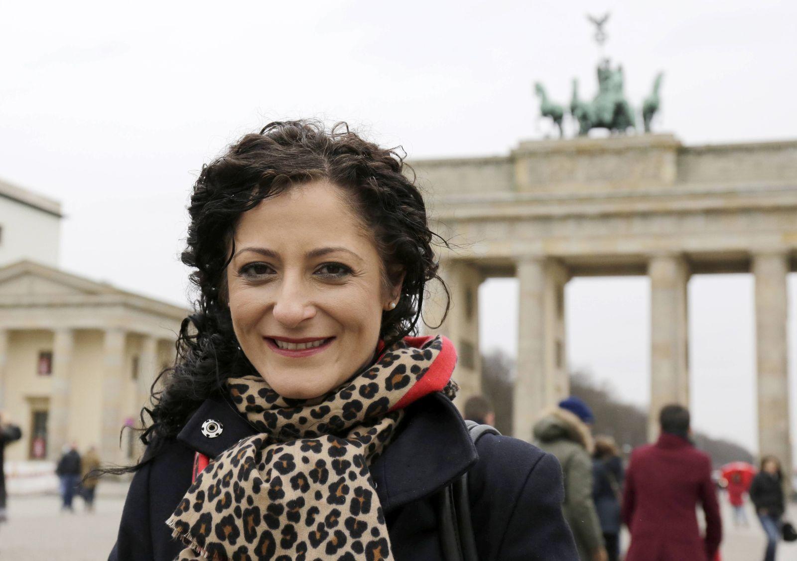 Cansel Kiziltepe SPD Deutschland Berlin Brandenburger Tor Pariser Platz Mitmach Aktion des Deu
