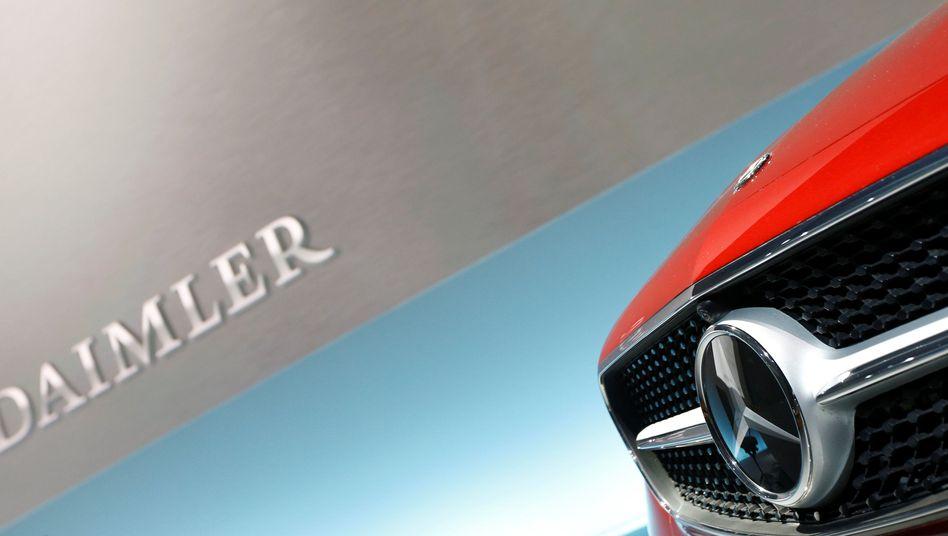 Bis zu 1 Million Fahrzeuge von Daimler stehen im Verdacht, mit einer Abgasbetrugssoftware ausgestattet zu sein