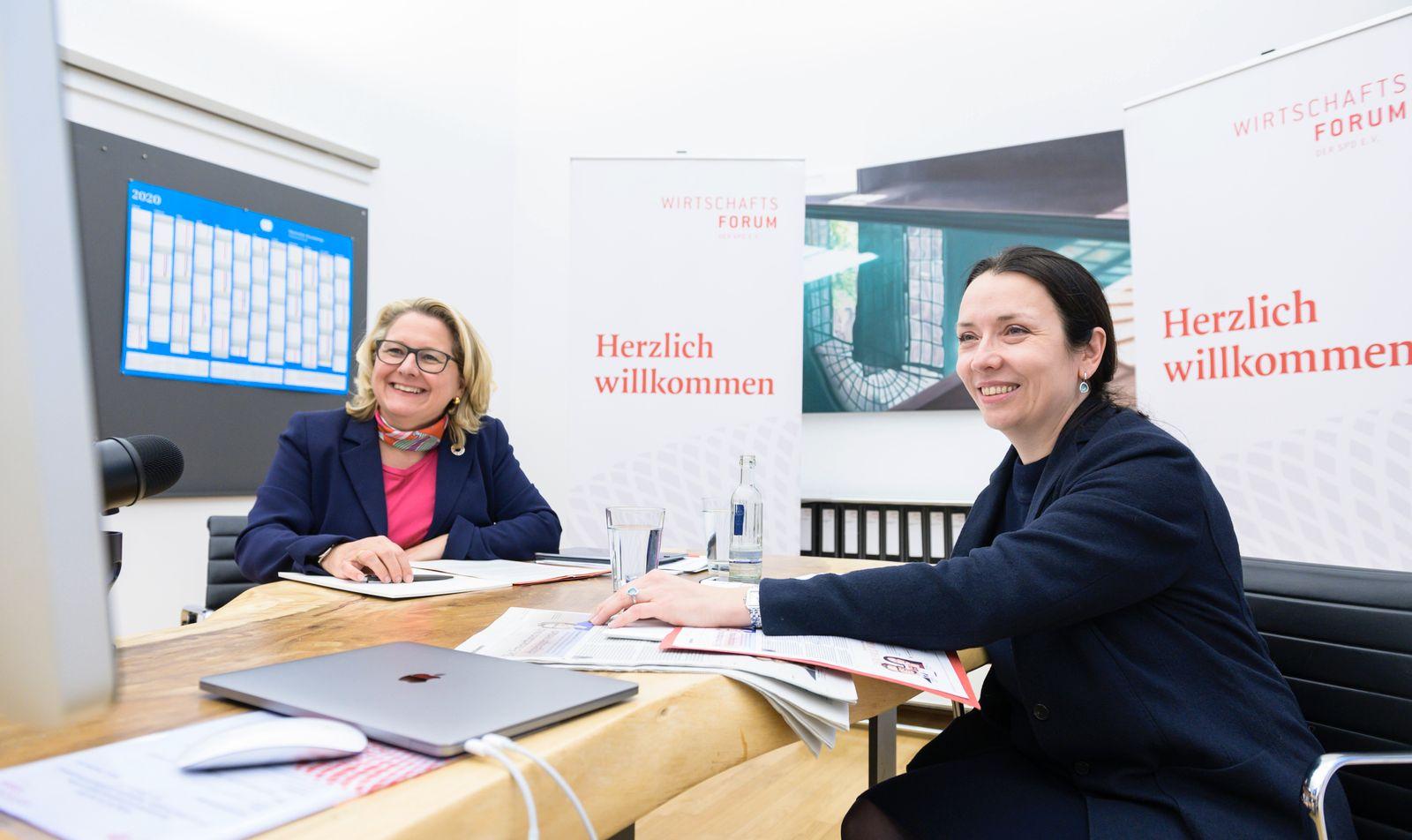 Digitalkonferenz SPD Wirtschaftsforum