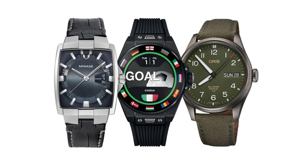 """Höher, schneller, weiter: Minase """"Horizon VM02"""", Hublot """"Smartwatch Big, Oris """"TLP Limited Edition"""""""