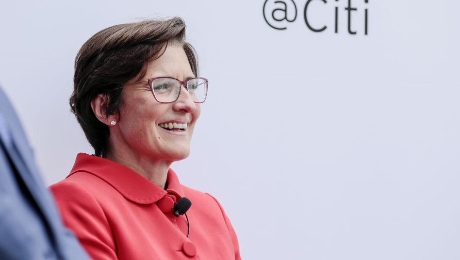 Jane Fraser (2019 als Lateinamerikachefin der Citigroup)