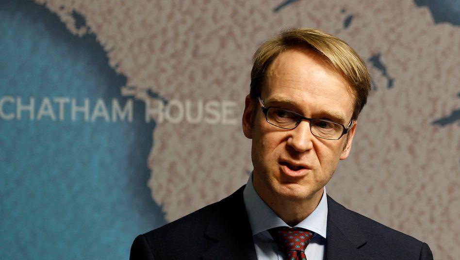 Jens Weidmann: Der Bundesbankpräsident befürchtet, dass Reformen in den Krisenländern verschleppt werden