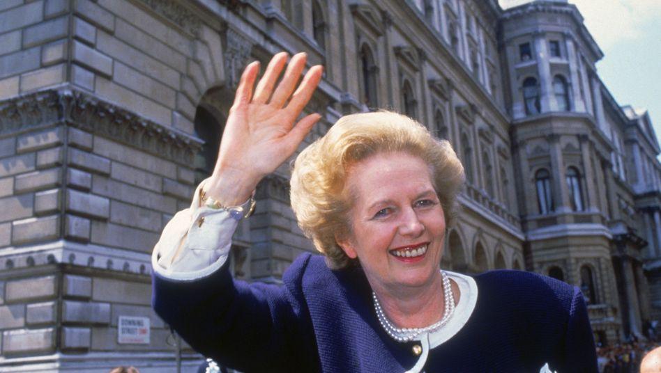 Margaret Thatcher 1987: Ikone der Konservativen, Zerstörerin der britischen Industriegesellschaft