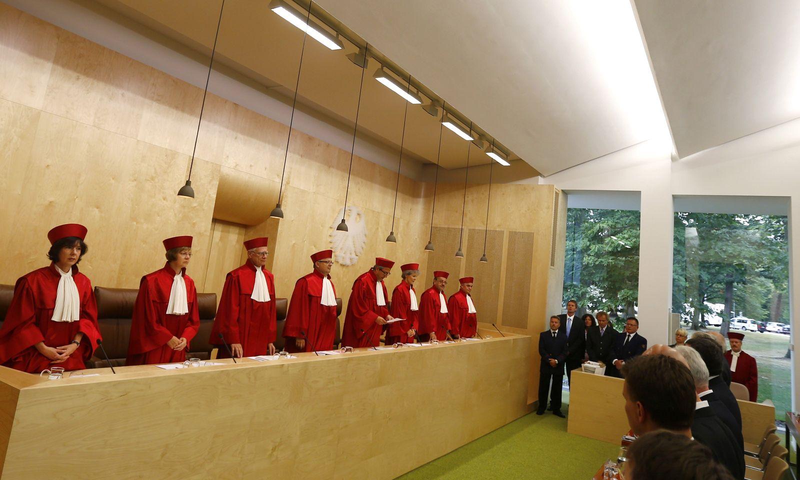 BVG / Karlsruhe / Bundesverfassungsgericht / Urteil zum ESM