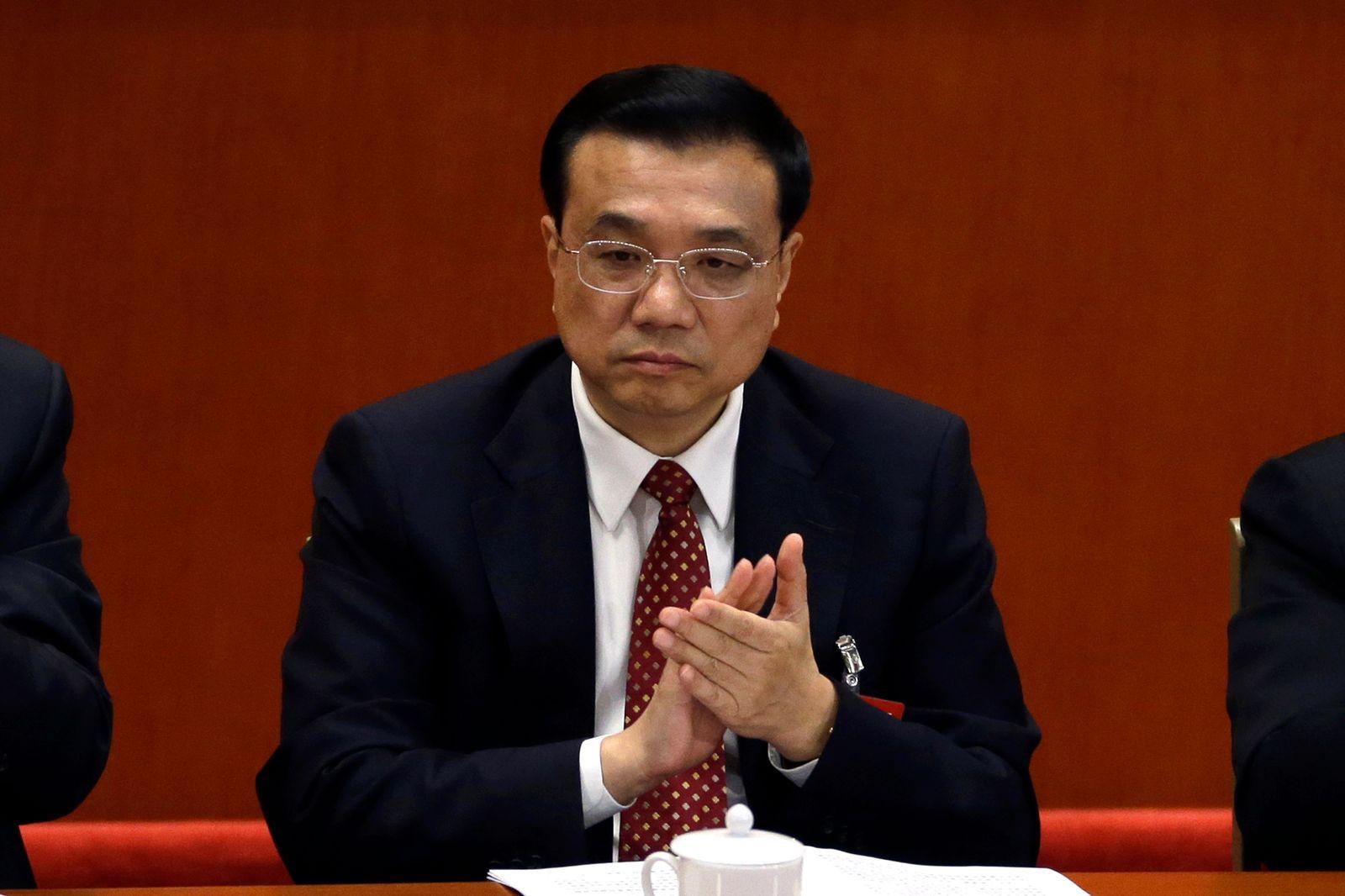 KP-Parteitag China / Li Keqiang