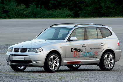 BMW Concept X3 Efficient Dynamics: Ein Baustein auf dem Weg zum schadstofffreien Wasserstoffantrieb
