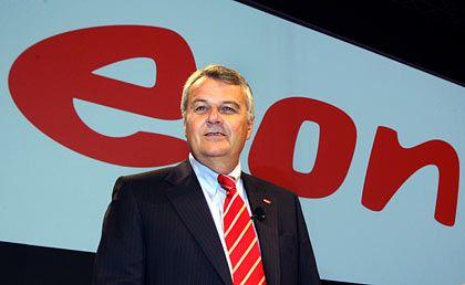 Standhaft: Eon-Chef Bernotat bleibt bei seiner Aussage